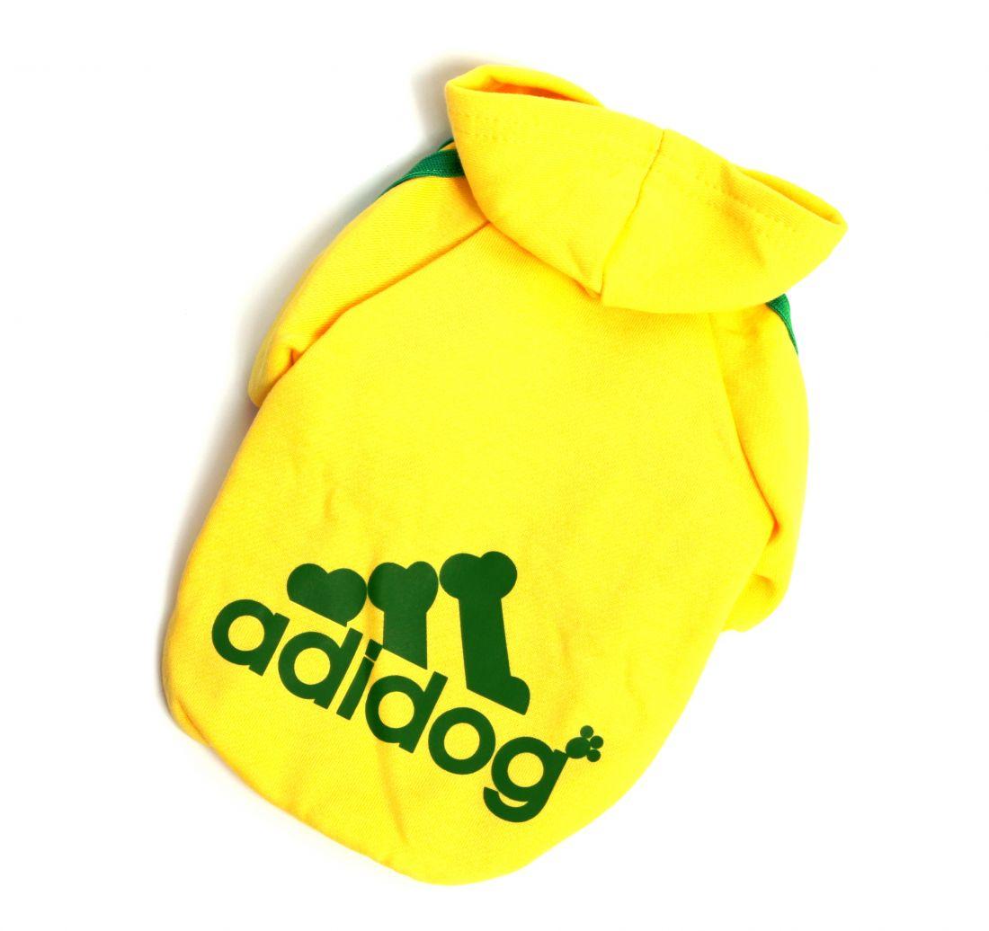 "Толстовка ""Adidog"" желтая"