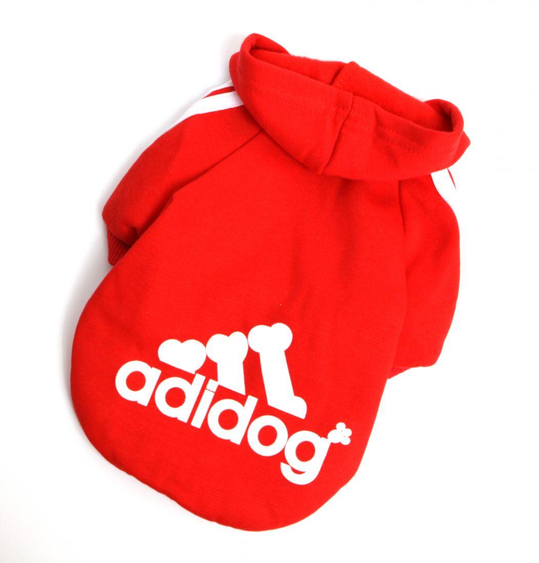 """Толстовка """"Adidog"""" красная"""
