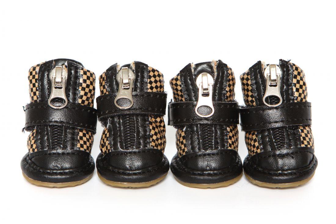 """Ботинки """"Шашка"""" черные"""