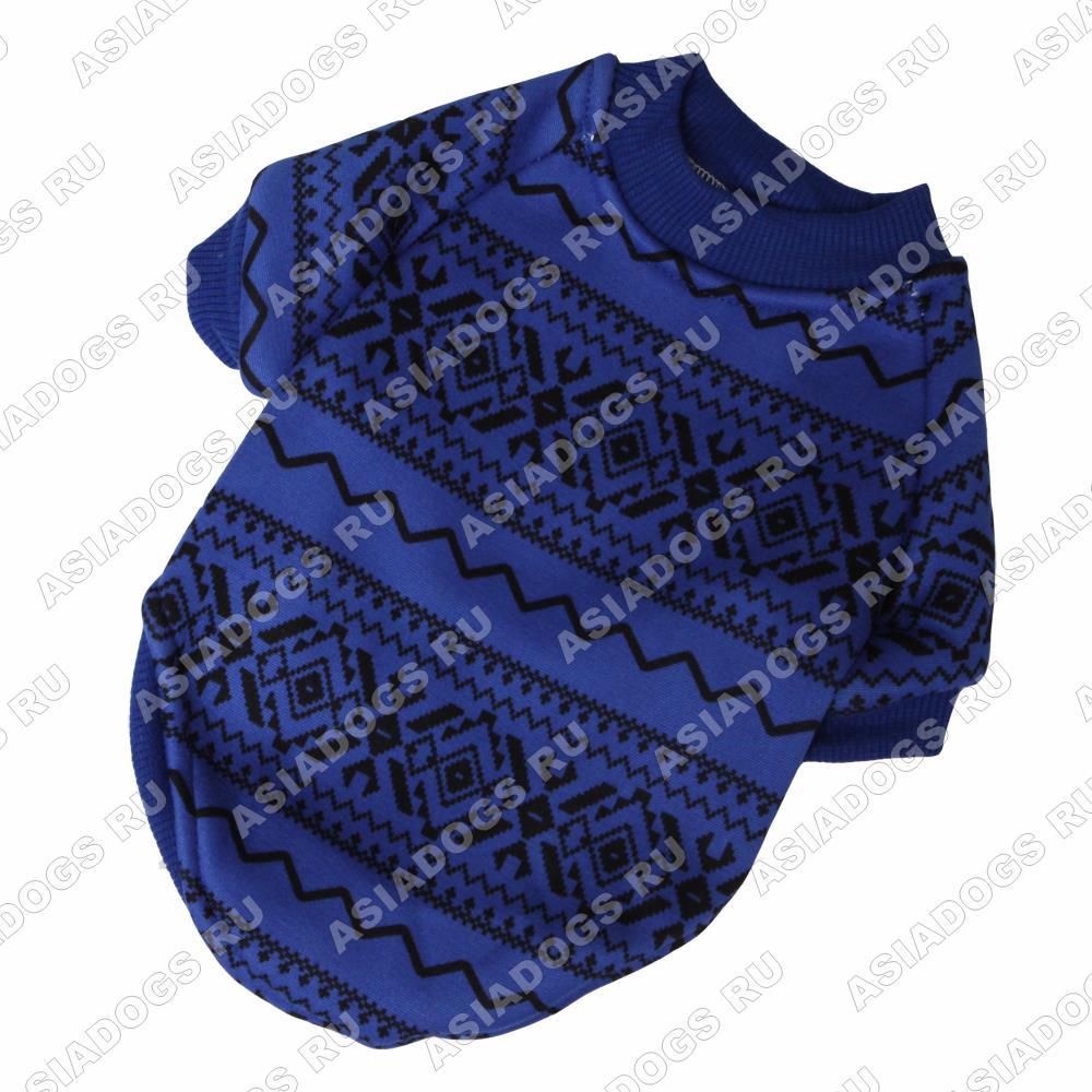 Толстовка Сканди синяя