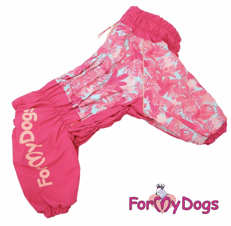 Комбинезон розовый для девочек