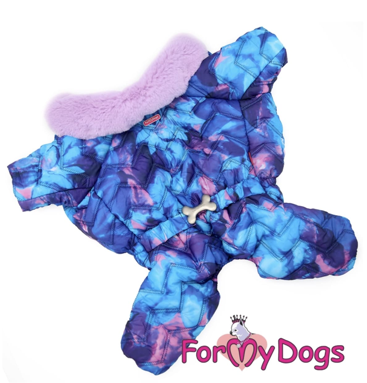 Комбинезон голубой для девочек