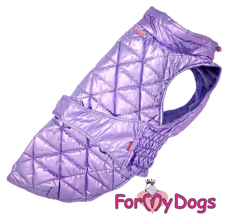 Попона фиолетовый металик