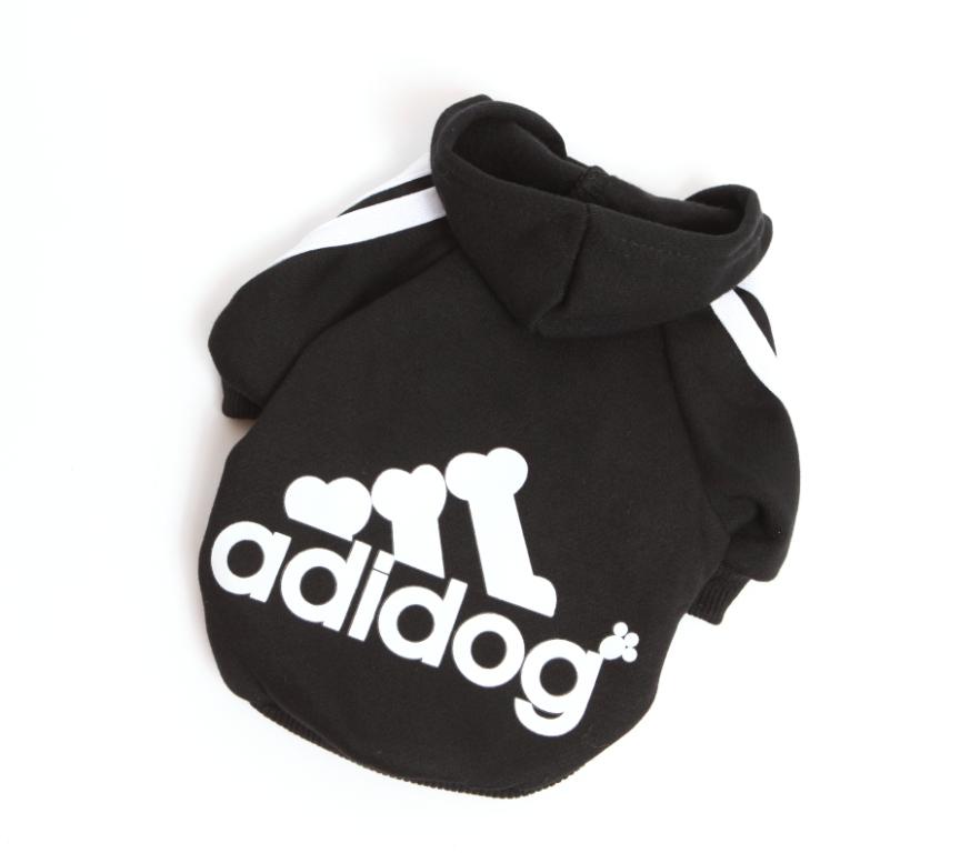 """Толстовка """"Adidog"""" черная"""