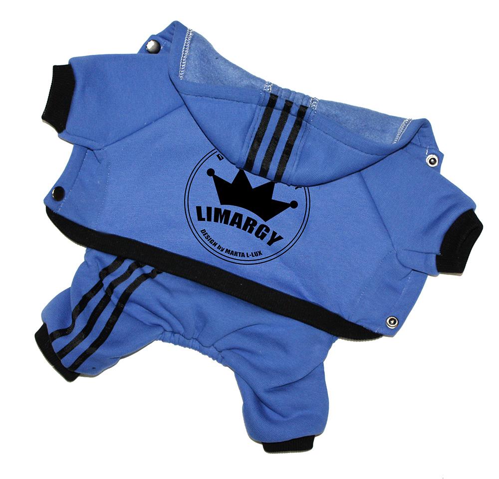Спортивный комбинезон 'Lim Crown' синий