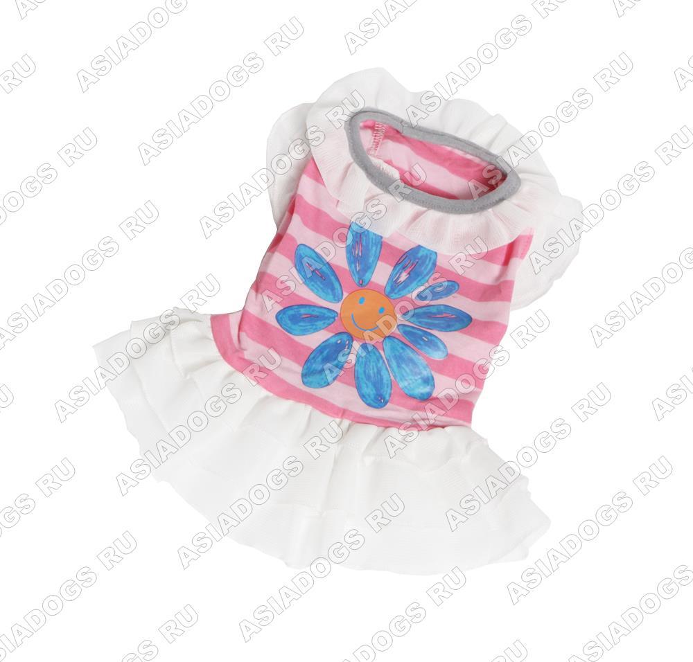 """Платье """"Flower"""" розовое"""