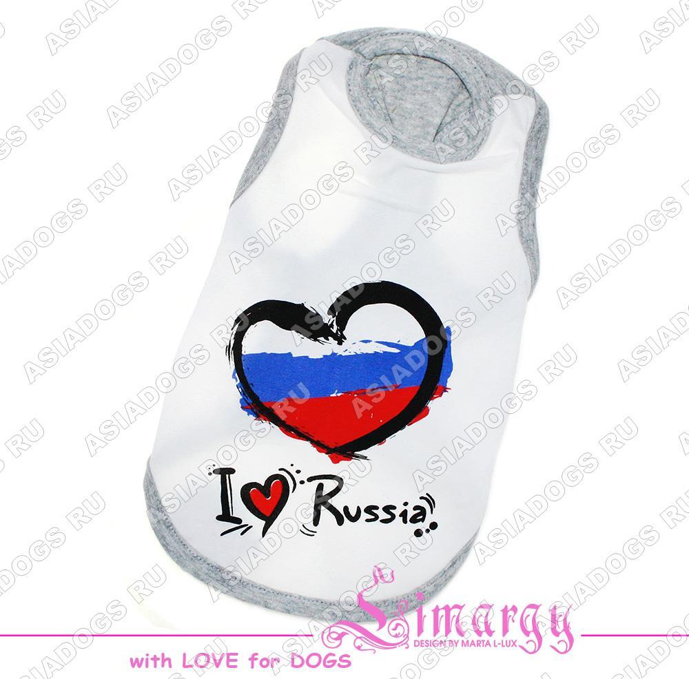 """Майка """"I love RUS"""""""