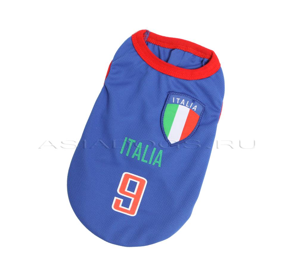 """Майка """"Italia"""" синяя"""