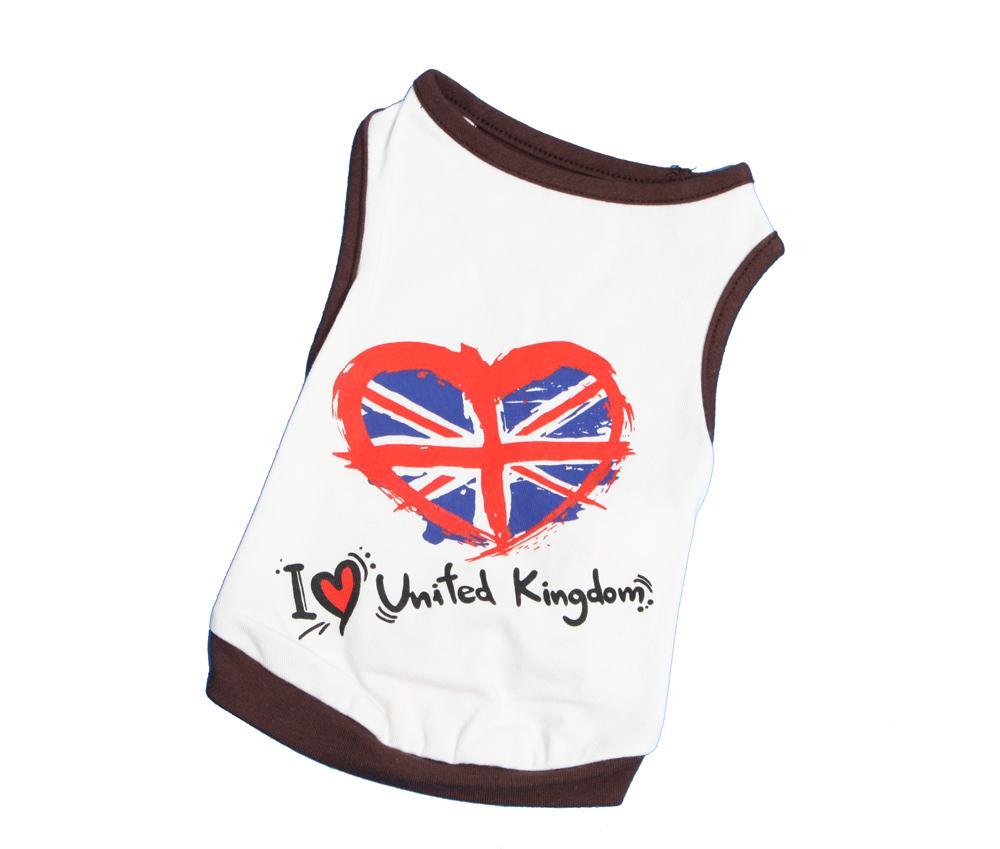 """Майка """"I love UK"""""""