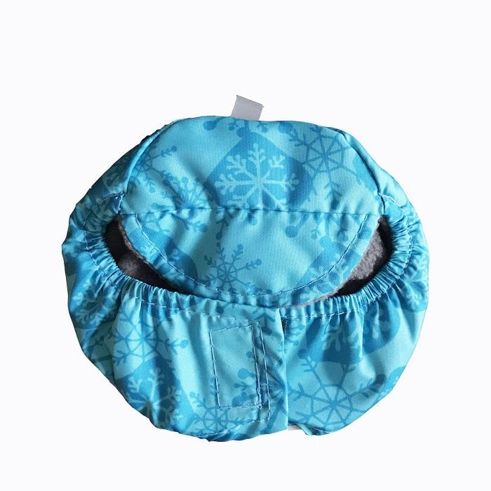 """Шапка """"Мишель"""" флис, голубой, размер 1"""
